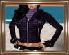 ! Short Purple Jacket.