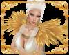 Angelis Shoulder Feather