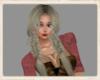 Ash blonde Viking braids