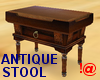 !@ Antique stool