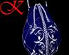Blue coin bag