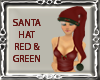 ! Santa Hat Red N Green