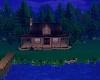 maison au bor du lac