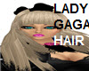 LADY GAGA HAIR blk bow