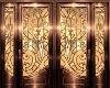 Bronze aArt Deco door