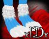 xIDx Spot Blue Feet M