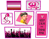 Lesbian Pink Poster v1