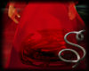 (S) Male Robe Skull Red