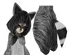 """""""L"""" Raccoon Onesie"""
