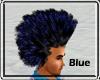 [blu] blue afro M