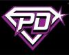 Purple Diamonds Shorts