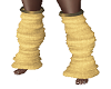 *TM leg warmers gold