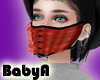 !BA Black Ruffle Mask Re