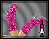 -k- Shortboots Pink