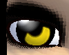 Yellow Anime Style Eyes