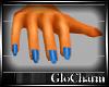 Glo* DaintyHands~Blu