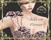 Add on flower dress