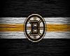 Boston Bruins Wooden Art