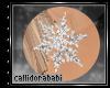 *C ~ Snowflake Earrings