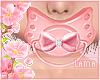 !* KIDS Pacifier Pink
