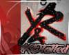 Blkn red Y&R chain