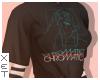 ✘ Chromatics shirt.