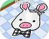 PigRabbit Head Rug