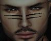 Black Facial Tidal Lines