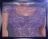 Sheer Lace Cobalt Top