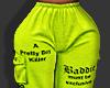 ღ Neon Bad Joggers