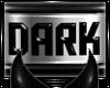 DARK Collar Sticker I
