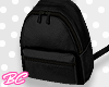 |bc| Black mini backpack