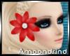AM:: Red Hair Flower