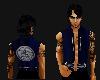 blue scribe vest