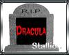 Dracula Headstone
