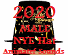 2020 NYE M Hat w/ Sounds
