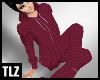 [TLZ]Footie pjs red