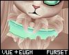 V e Civet Fluff Collar