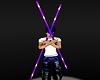 NL-Rave Rods Purple Neon