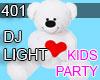 DJ LIGHT TOY BEAR 401