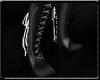 Lace boots Black