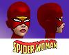Spider Woman Head