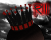 {R3}King Crown Red & bla