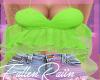 Green Ruffle Top