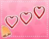 🔔 Red Heart Earrings