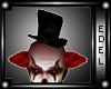 -e- clown hat and hair