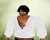 ~CB white open shirt