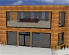 (SF) Modern Log Cabin