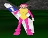 Peach Boomerang Suit