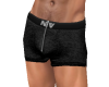NV Zip Boxer Black